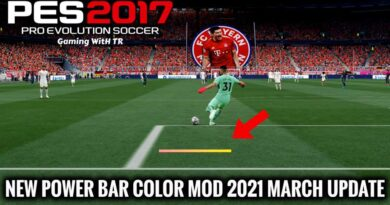 PES 2017 | NEW POWER BAR COLOR MOD 2021 | MARCH UPDATE | DOWNLOAD & INSTALL