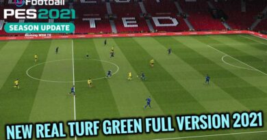 PES 2021 | NEW REAL TURF GREEN FULL VERSION 2021 | DOWNLOAD & INSTALL