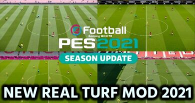 PES 2021 | NEW REAL TURF MOD 2021 | DOWNLOAD & INSTALL