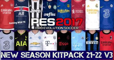 PES 2017 | NEW SEASON KITPACK 21-22 | UNOFFICIAL VERSION 3 | DOWNLOAD & INSTALL