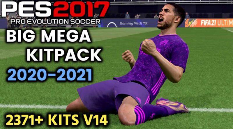 PES 2017 | BIG MEGA KITPACK 20-21 | 2371+ KITS V14 | DOWNLOAD & INSTALL