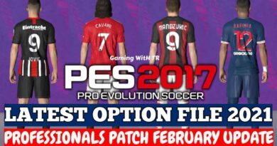 PES 2017 | LATEST OPTION FILE 2021 | PROFESSIONALS PATCH | FEBRUARY UPDATE | DOWNLOAD & INSTALL