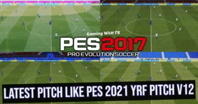 PES 2017   LATEST PITCH LIKE PES 2021   YRF PITCH V12   DOWNLOAD & INSTALL
