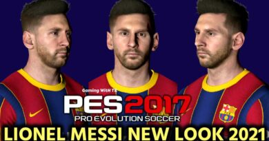PES 2017 | LIONEL MESSI | NEW LOOK 2021 & NEW FACE | DOWNLOAD & INSTALL