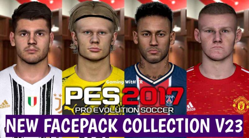 PES 2017 | NEW FACEPACK COLLECTION V23 | DOWNLOAD & INSTALL