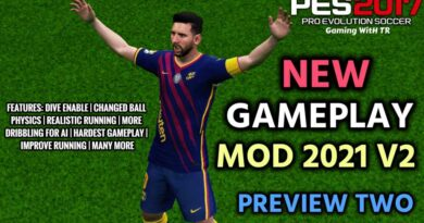 PES 2017 | NEW GAMEPLAY MOD 2021 V2 | PREVIEW TWO | DOWNLOAD & INSTALL