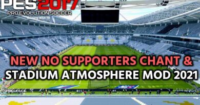 PES 2017 | NEW NO SUPPORTERS CHANT & STADIUM ATMOSPHERE MOD 2021 | DOWNLOAD & INSTALL