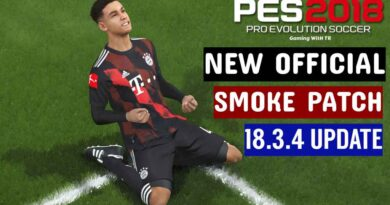 PES 2018 | NEW OFFICIAL SMOKE PATCH 18.3.4 UPDATE