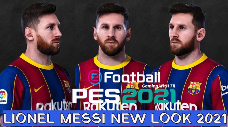 PES 2021 | LIONEL MESSI | NEW LOOK 2021 & NEW FACE | DOWNLOAD & INSTALL