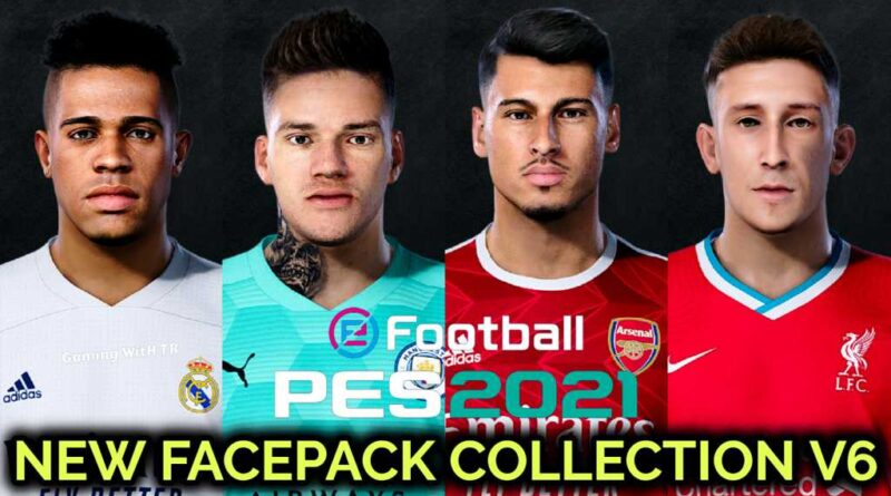 PES 2021 | NEW FACEPACK COLLECTION V6 | DOWNLOAD & INSTALL