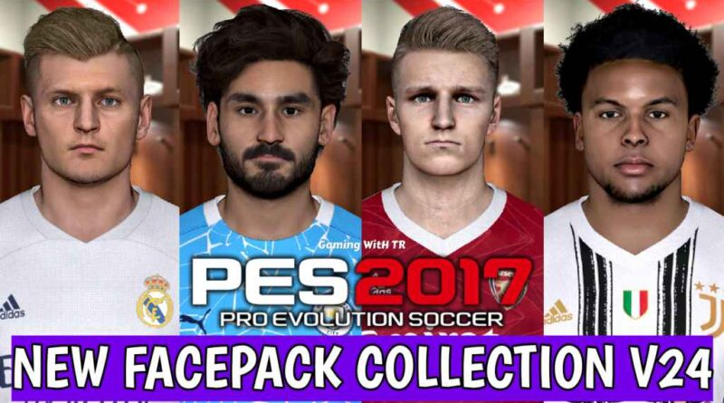 PES 2017 | NEW FACEPACK COLLECTION V24 | DOWNLOAD & INSTALL