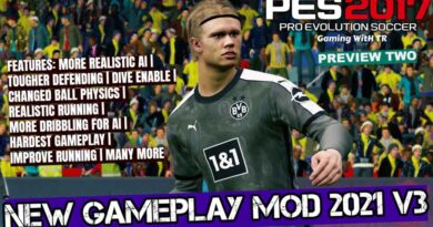PES 2017   NEW GAMEPLAY MOD 2021 V3   PREVIEW TWO   DOWNLOAD & INSTALL
