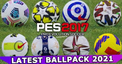 PES 2017 | LATEST BALLPACK 2021 | DOWNLOAD & INSTALL