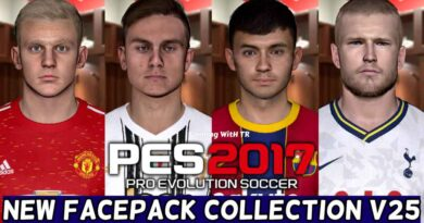 PES 2017   NEW FACEPACK COLLECTION V25   DOWNLOAD & INSTALL