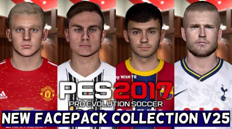 PES 2017 | NEW FACEPACK COLLECTION V25 | DOWNLOAD & INSTALL