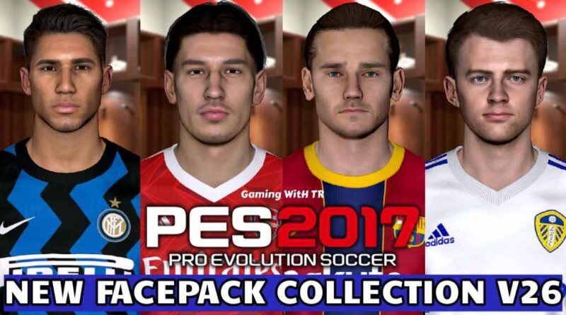 PES 2017 | NEW FACEPACK COLLECTION V26 | DOWNLOAD & INSTALL