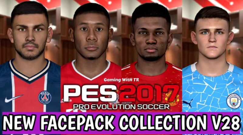 PES 2017 | NEW FACEPACK COLLECTION V28 | DOWNLOAD & INSTALL