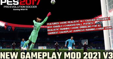 PES 2017 | NEW GAMEPLAY MOD 2021 V3 | DOWNLOAD & INSTALL