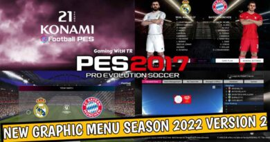 PES 2017 | NEW GRAPHIC MENU SEASON 2022 VERSION 2 | DOWNLOAD & INSTALL