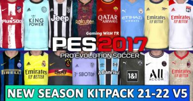 PES 2017   NEW SEASON KITPACK 21-22   UNOFFICIAL VERSION 5   DOWNLOAD & INSTALL