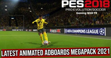 PES 2018   LATEST ANIMATED ADBOARDS MEGAPACK 2021   DOWNLOAD & INSTALL