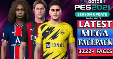 PES 2021 | LATEST MEGA FACEPACK FOR SMOKE PATCH | 3222+ FACES R2+R2 UPGRADE | DOWNLOAD & INSTALL
