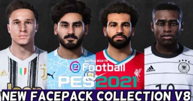 PES 2021 | NEW FACEPACK COLLECTION V8