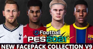 PES 2021 | NEW FACEPACK COLLECTION V9 | DOWNLOAD & INSTALL