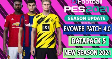PES 2021   NEW OFFICIAL EVOWEB PATCH 4.0   DATAPACK 5   NEW SEASON 2021   INSTALLATION WITH VOICE