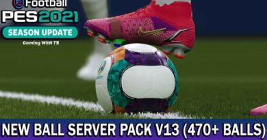 PES 2021 | NEW BALL SERVER PACK V13 | 470+ BALLS | DOWNLOAD & INSTALL
