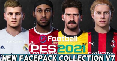 PES 2021 | NEW FACEPACK COLLECTION V7 | DOWNLOAD & INSTALL