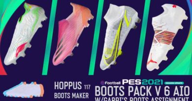eFootball PES 2021 SEASON UPDATE BOOTS PACK V6 BY Hoppus 117