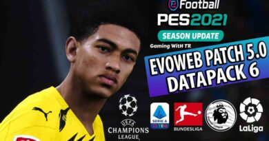 PES 2021 | NEW EVOWEB PATCH 2021 | VERSION 5.0 FOR DATAPACK 6 | DOWNLOAD & INSTALL