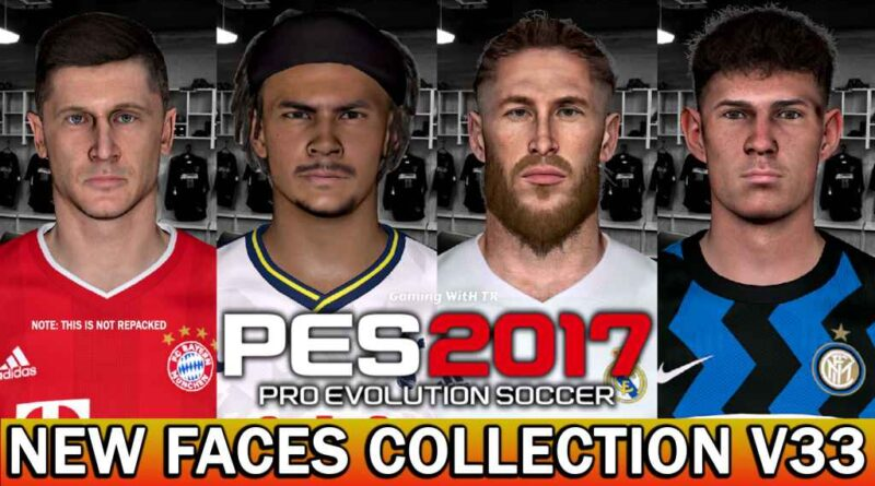 PES 2017 | NEW FACES COLLECTION V33 | DOWNLOAD & INSTALL