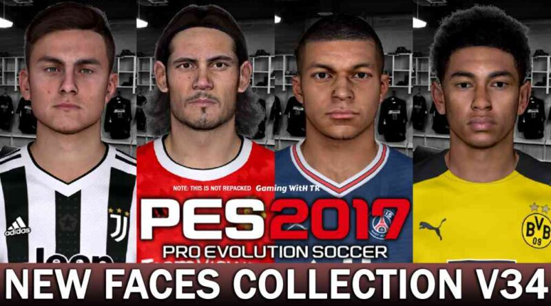 PES 2017 | NEW FACES COLLECTION V34 | DOWNLOAD & INSTALL