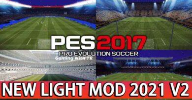 PES 2017 | NEW LIGHT MOD 2021 V2 | DOWNLOAD & INSTALL