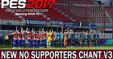 PES 2017   NEW NO SUPPORTERS CHANT & STADIUM ATMOSPHERE V3 MOD 2021   DOWNLOAD & INSTALL