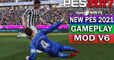 PES 2017 | NEW PES 2021 GAMEPLAY MOD V6 | DOWNLOAD & INSTALL