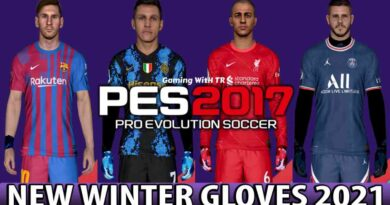 PES 2017 | NEW WINTER GLOVES 2021 | DOWNLOAD & INSTALL