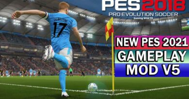 PES 2018 | NEW PES 2021 GAMEPLAY MOD V5 | DOWNLOAD & INSTALL