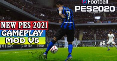 PES 2020   NEW PES 2021 GAMEPLAY MOD V5   DOWNLOAD & INSTALL