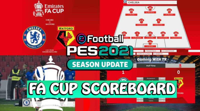 PES 2021 | FA CUP SCOREBOARD | DOWNLOAD & INSTALL