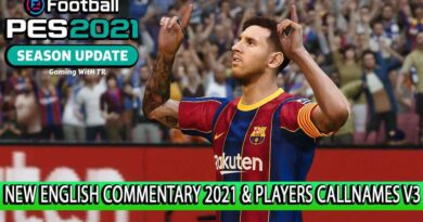 PES 2021 | NEW ENGLISH COMMENTARY 2021 & PLAYERS CALLNAMES V3 | DOWNLOAD & INSTALL