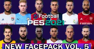 PES 2021 | NEW FACEPACK VOL. 5 BY JONATHAN FACEMAKER | DOWNLOAD & INSTALL