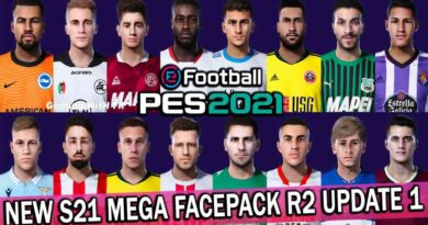 PES 2021 | NEW S21 MEGA FACEPACK R2 UPDATE 1 | 512 FACES | DOWNLOAD & INSTALL
