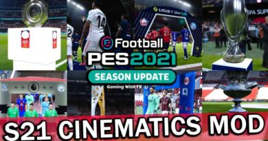 PES 2021 | S21 CINEMATICS MOD | TROPHIES & ENTRANCES SERVER | DOWNLOAD & INSTALL