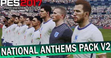 PES 2017 | NATIONAL ANTHEMS PACK V2 | 219 TEAMS | DOWNLOAD & INSTALL