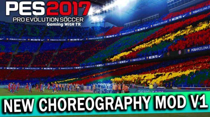 PES 2017 | NEW CHOREOGRAPHY MOD V1 FOR AZ STADIUM | DOWNLOAD & INSTALL