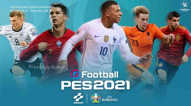 PES 2017 | NEW EURO 2020 GRAPHIC MENU 2021 | DOWNLOAD & INSTALL