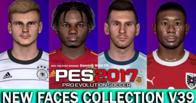 PES 2017   NEW FACES COLLECTION V39   FT. ANSU FATI   WERNER   ALABA   MESSI   DOWNLOAD & INSTALL